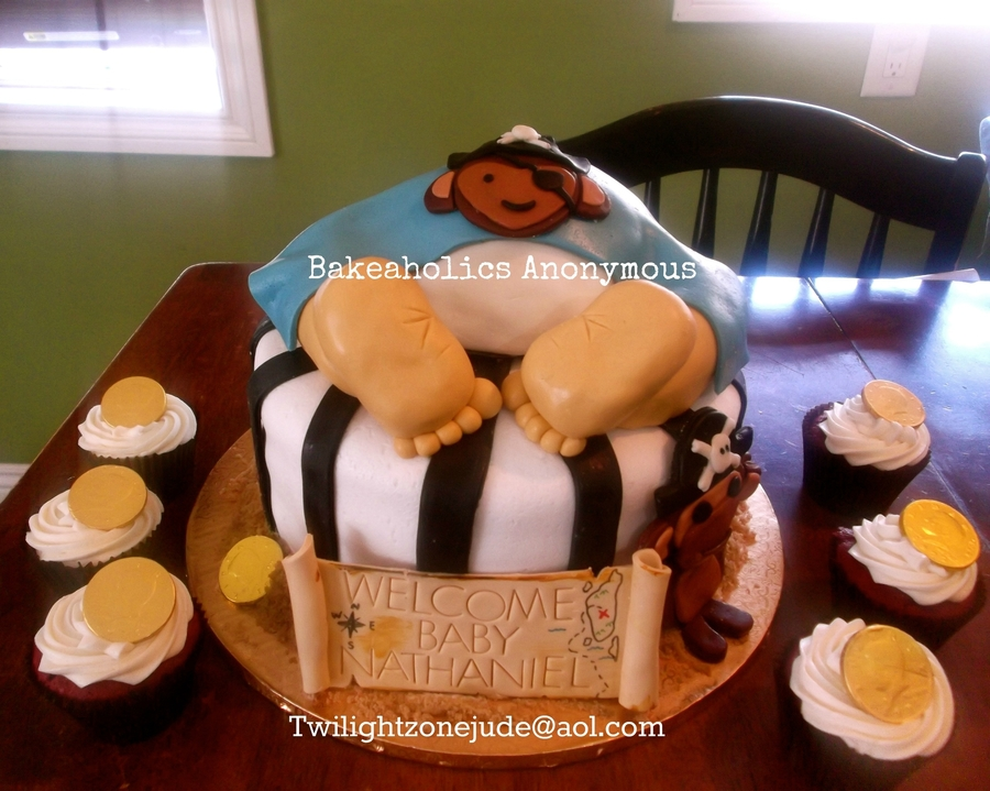 Pirate Baby Shower Theme Pirate Baby Cakecentral