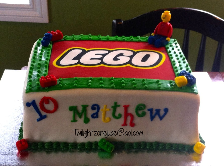 Lego Cake , Lego Birthday Cake on Cake Central