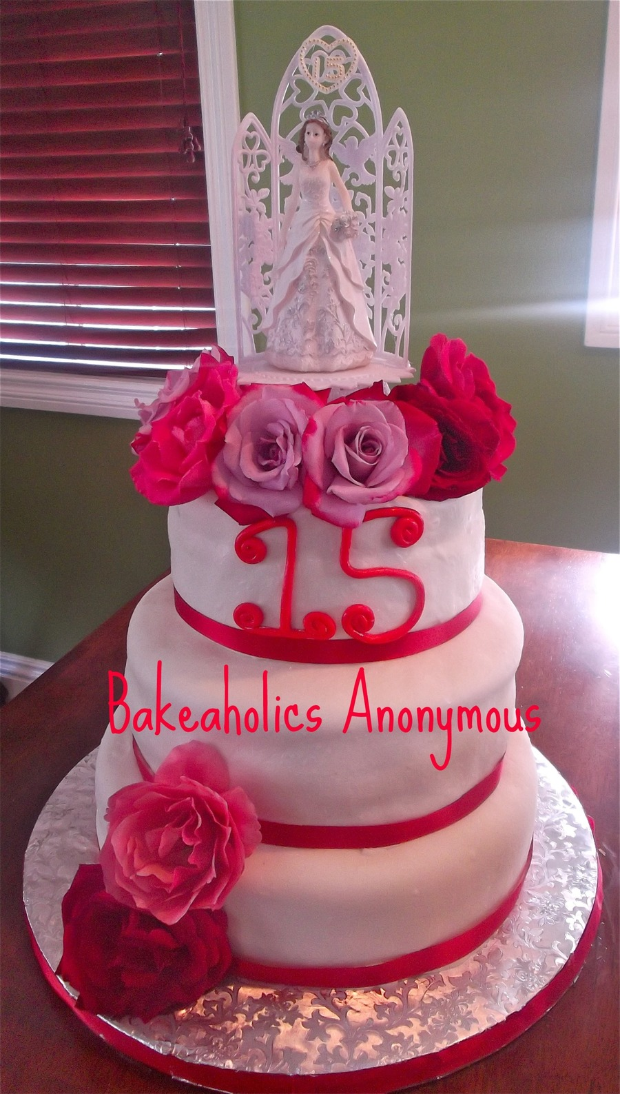 Quinceanera 15Th Birthday on Cake Central