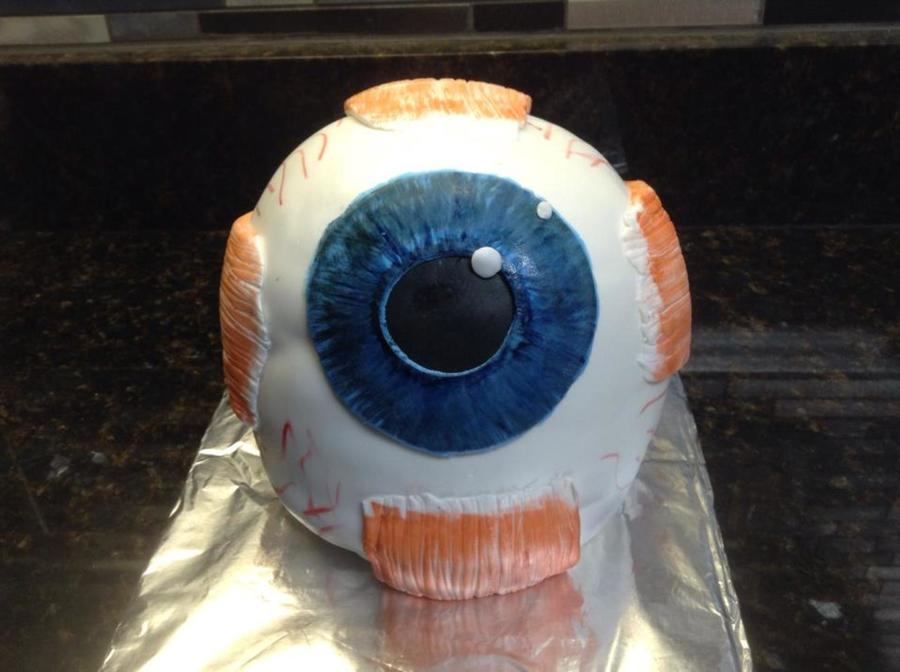 Eye Ball Cake Cakecentral Com