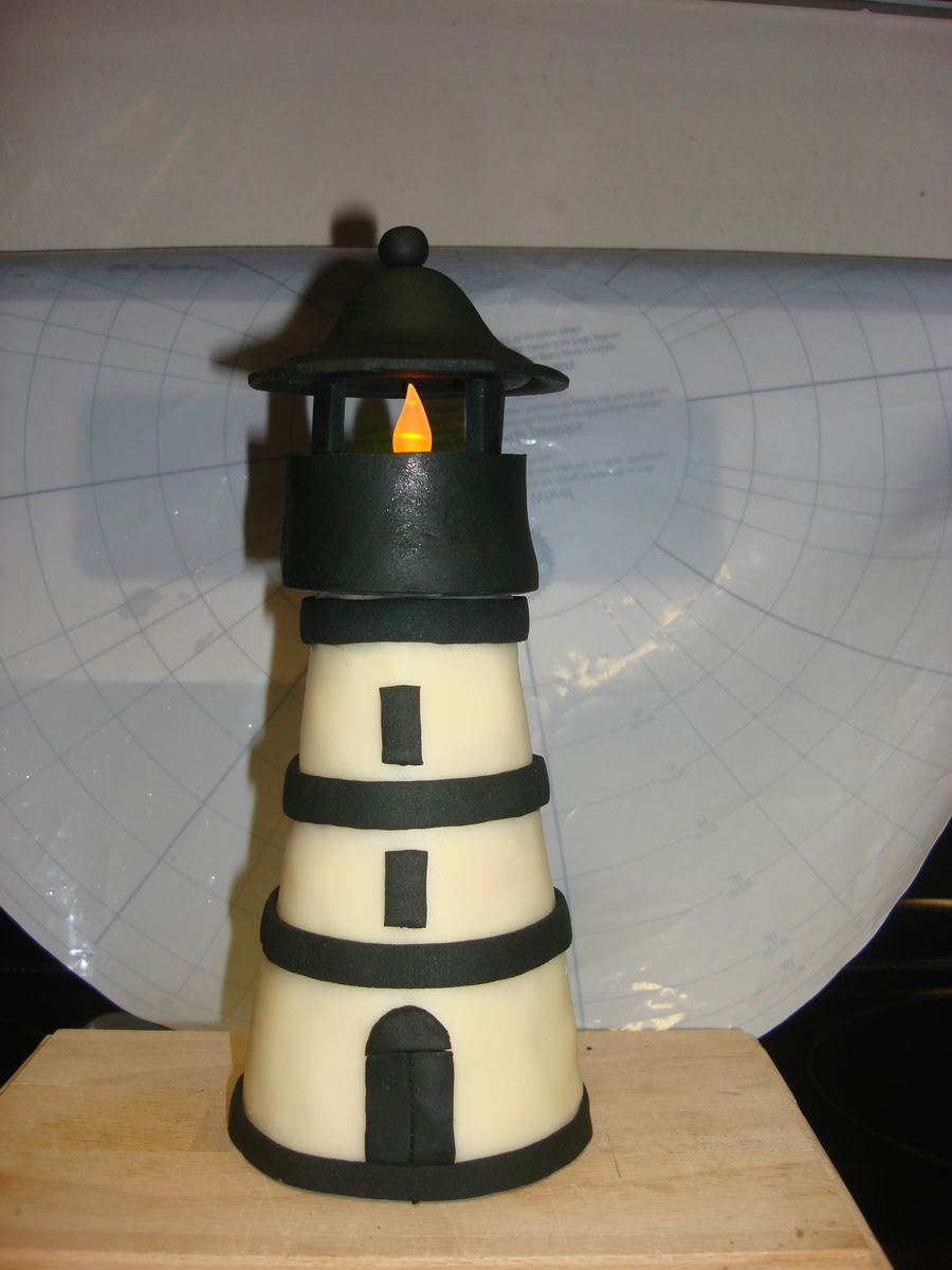 Light House Cake Topper on Cake Central