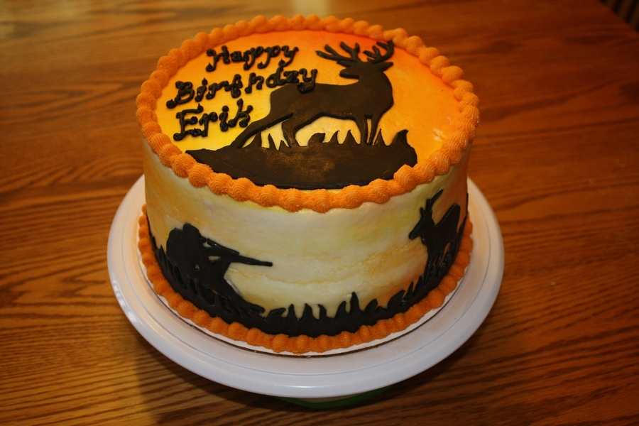 Deer Sillouette on Cake Central