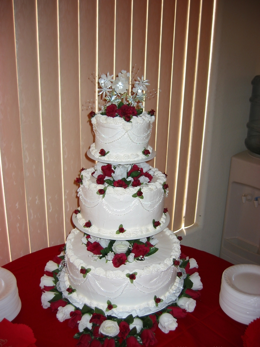 floating wedding cake 3 tier floating cake white non dairy 14320