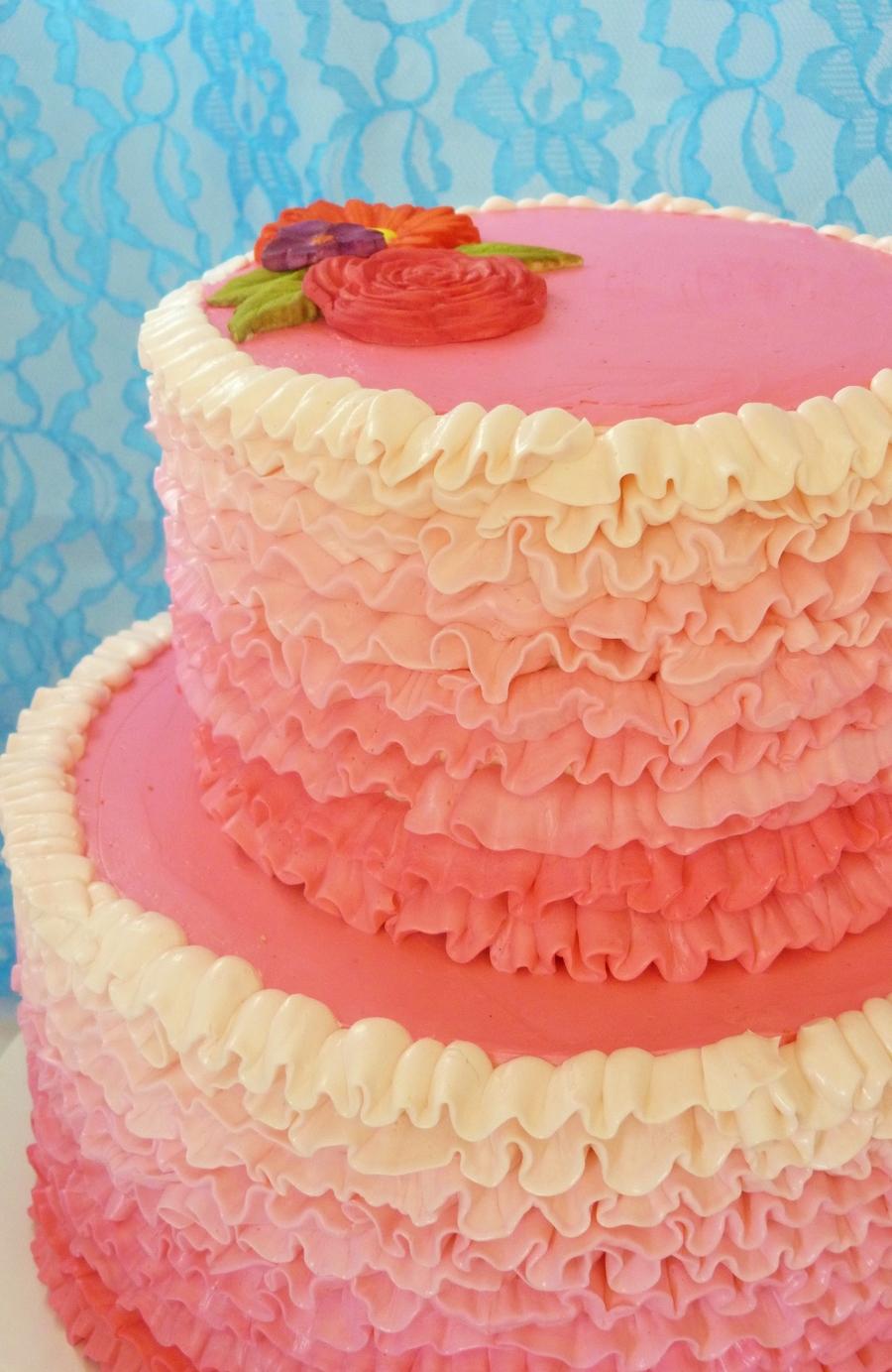 Cake Piping Recipe