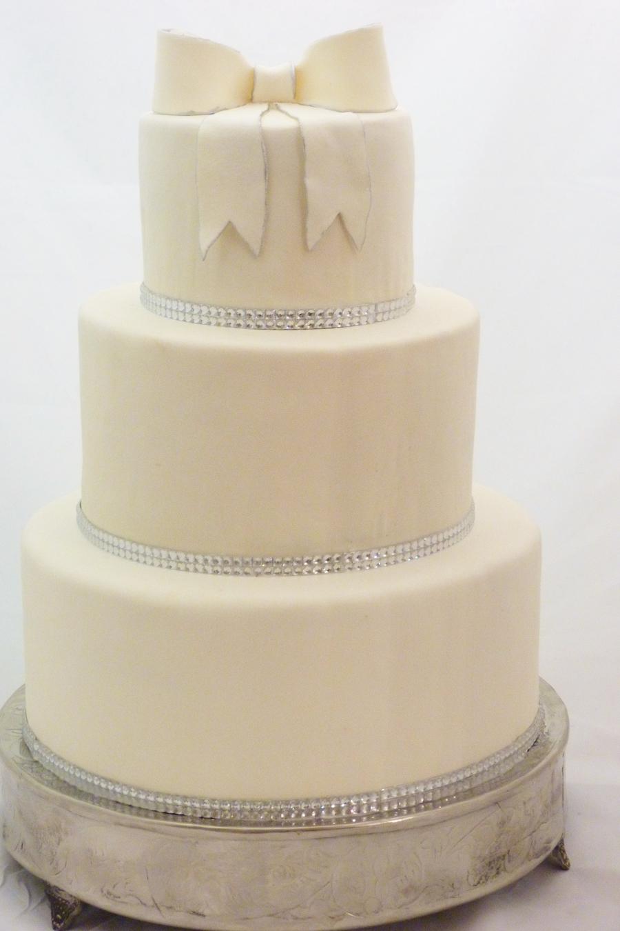 Wedding Cake Ribbon Trim