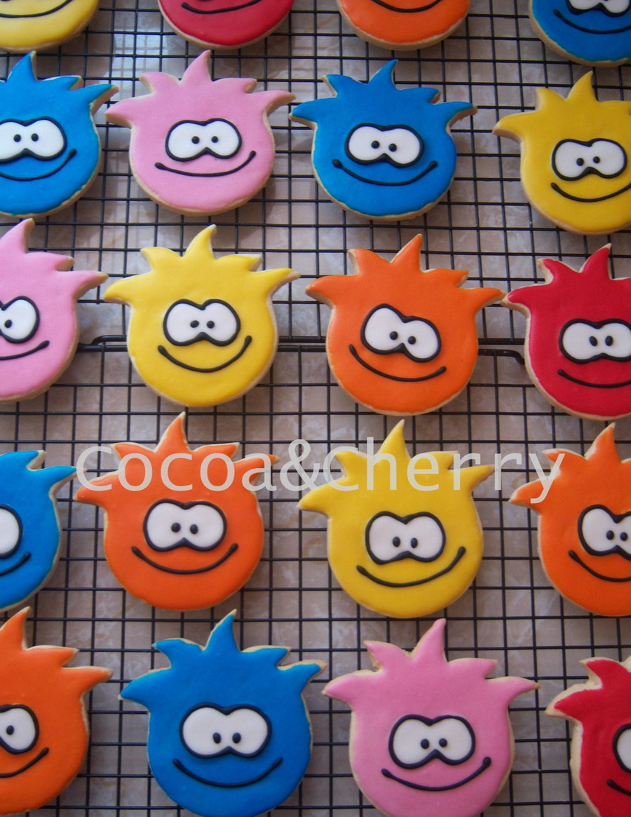 Puffles Cookies on Cake Central
