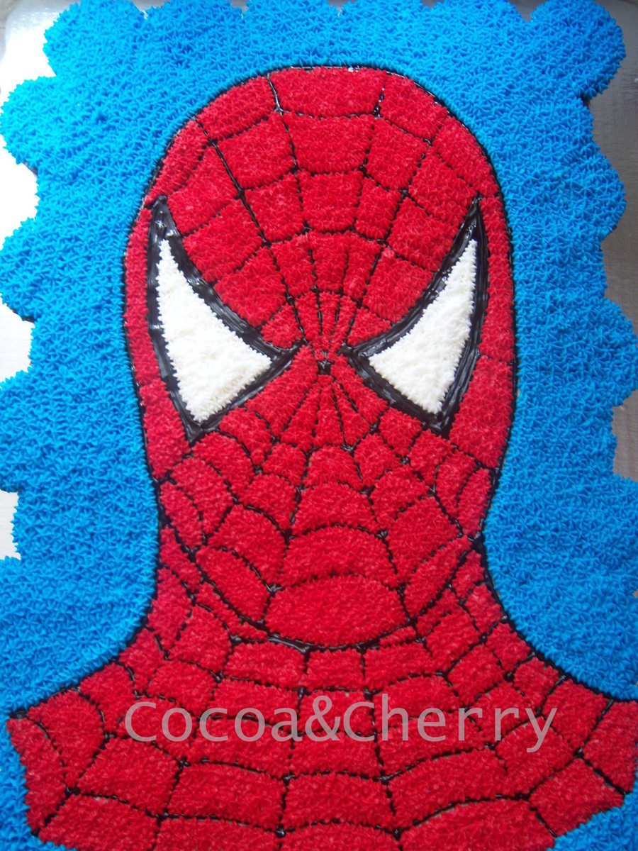 Spiderman Pull Apart Cake Cakecentral Com