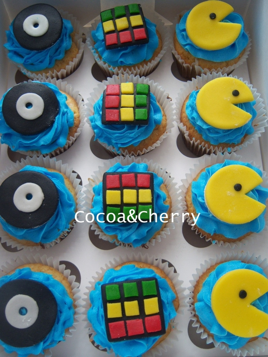 80's Cupcakes on Cake Central