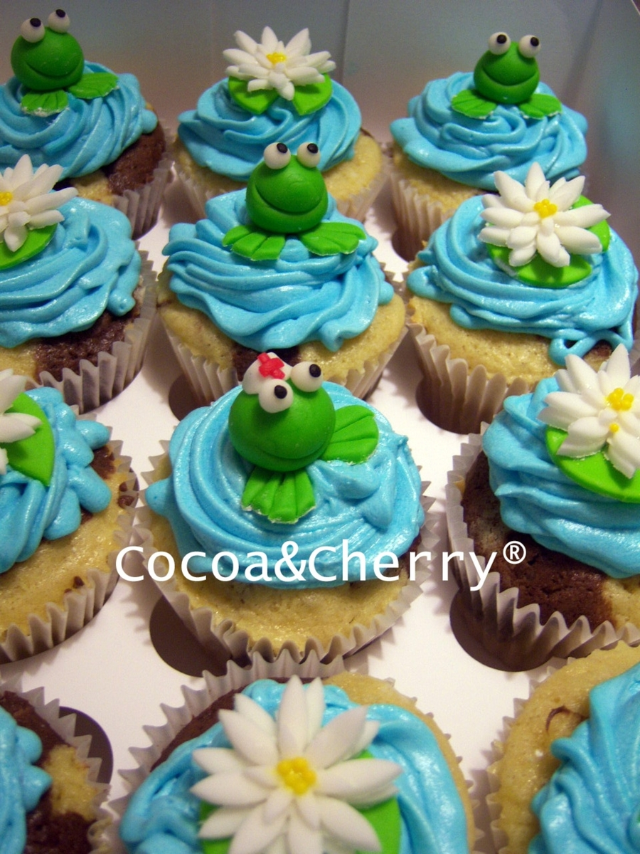 Frog Cupcakes Cakecentral Com