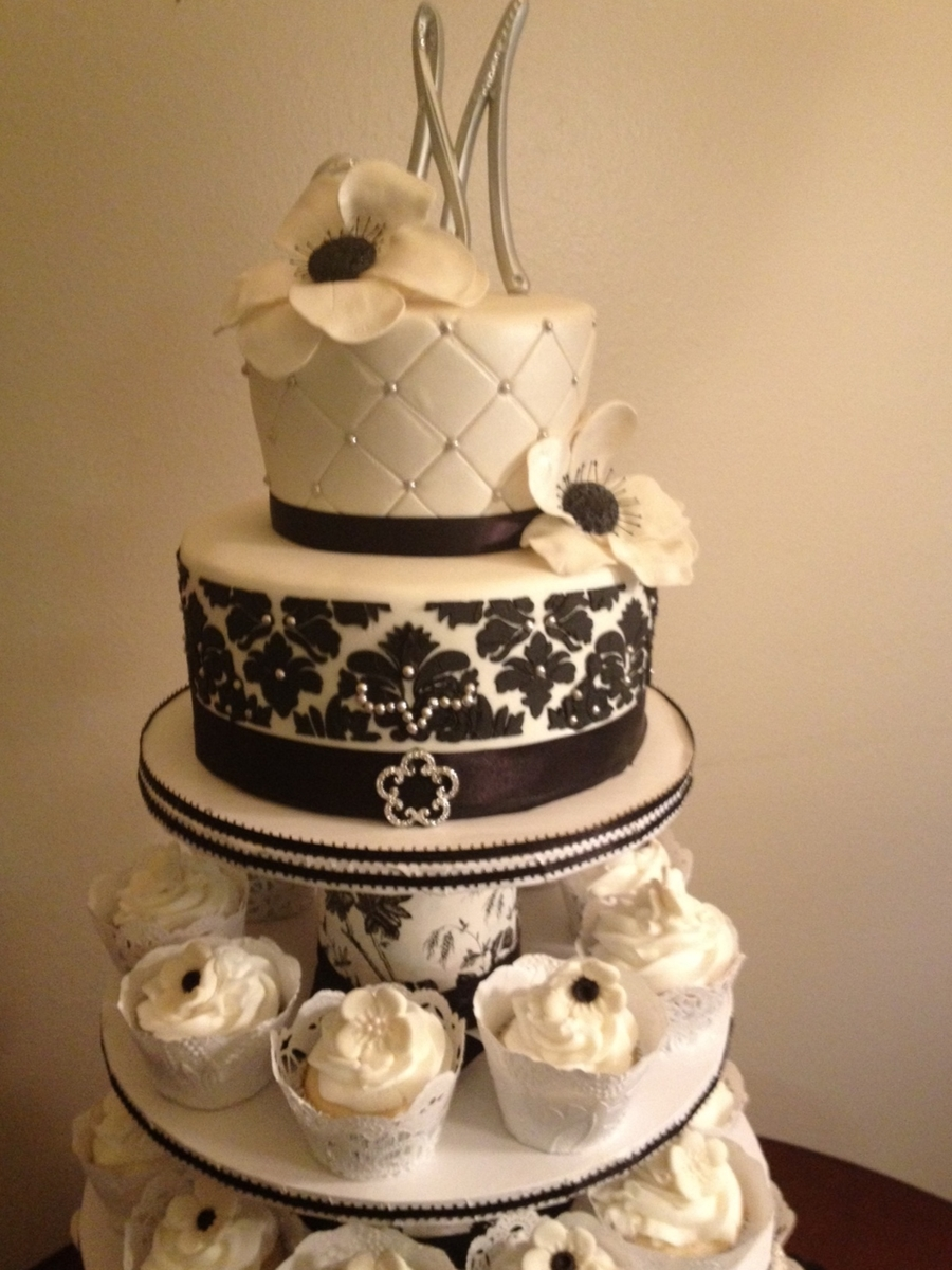 Diy Wedding Cake Cupcakes