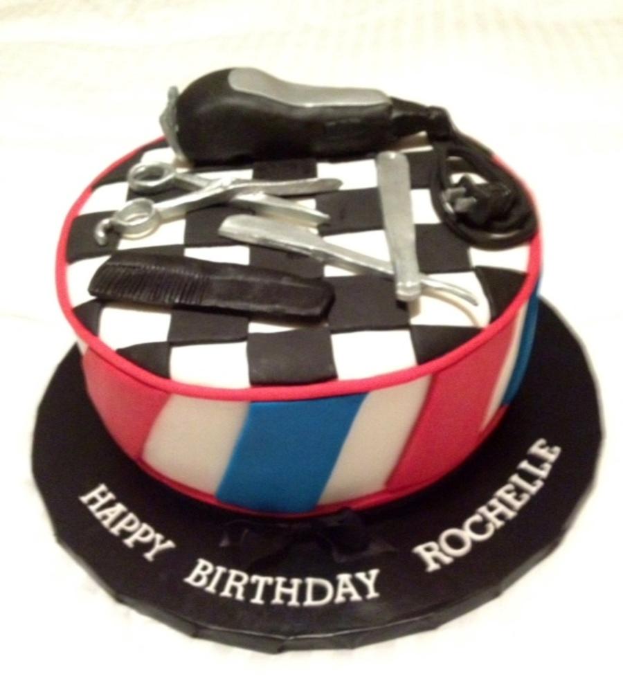 Barber Cake - CakeCentral.com