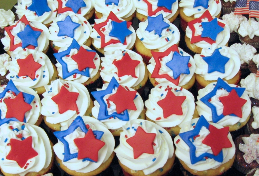 4Th Of July Cupcakes! on Cake Central