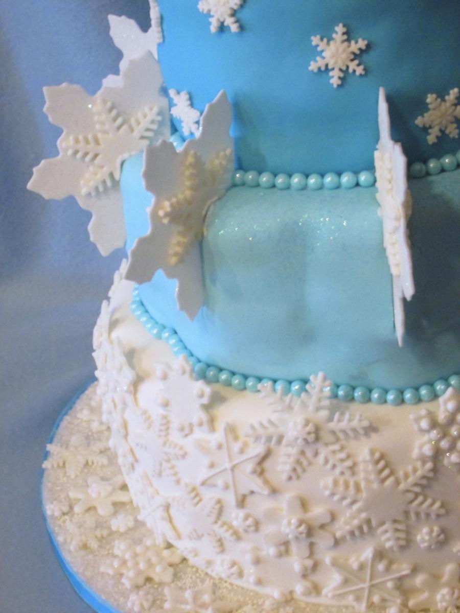Snowflake Cake Cakecentral Com