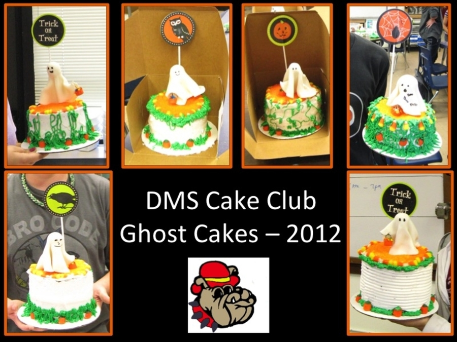 More Dms Cake Club Ghosts on Cake Central