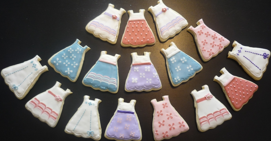 Dress Cookies on Cake Central