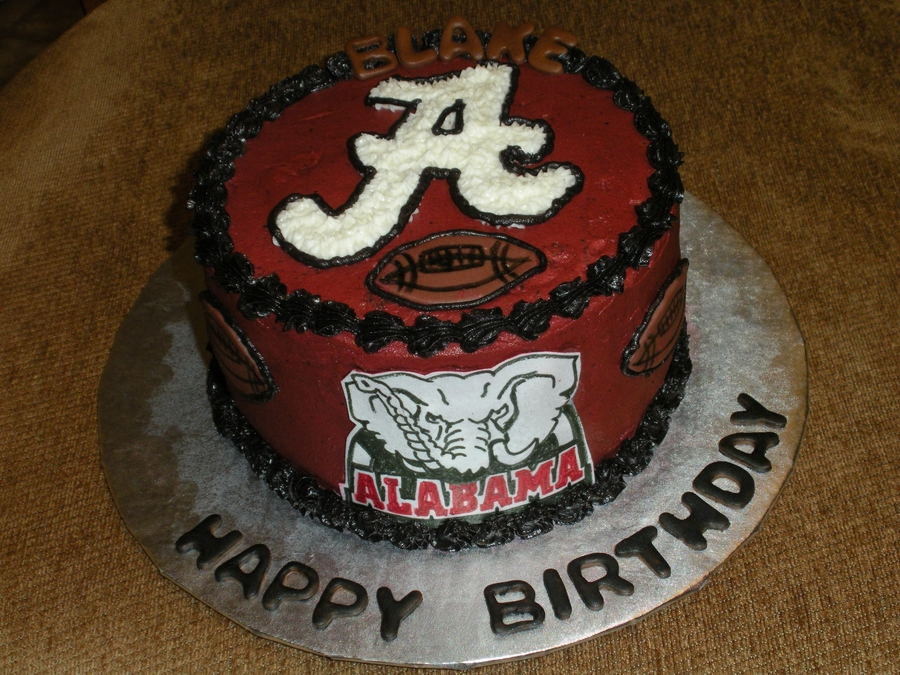 Alabama Football Cakecentral Com