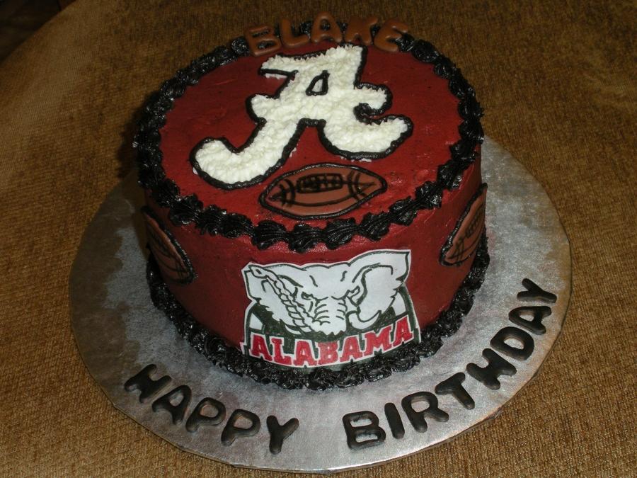 Alabama Football Cakecentral Com