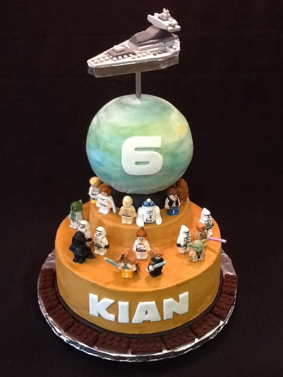 Star Wars Cake Figures