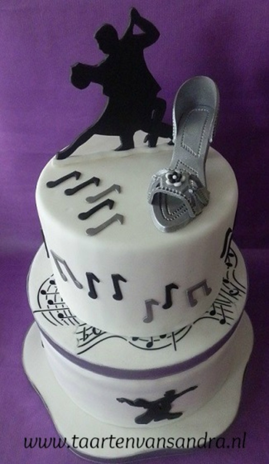 Ballroom Dancing Cake on Cake Central
