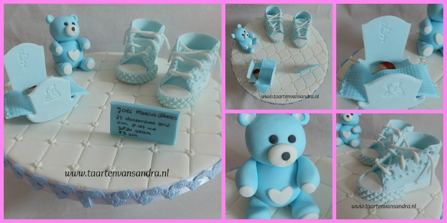 Birth Of A Baby Boy on Cake Central