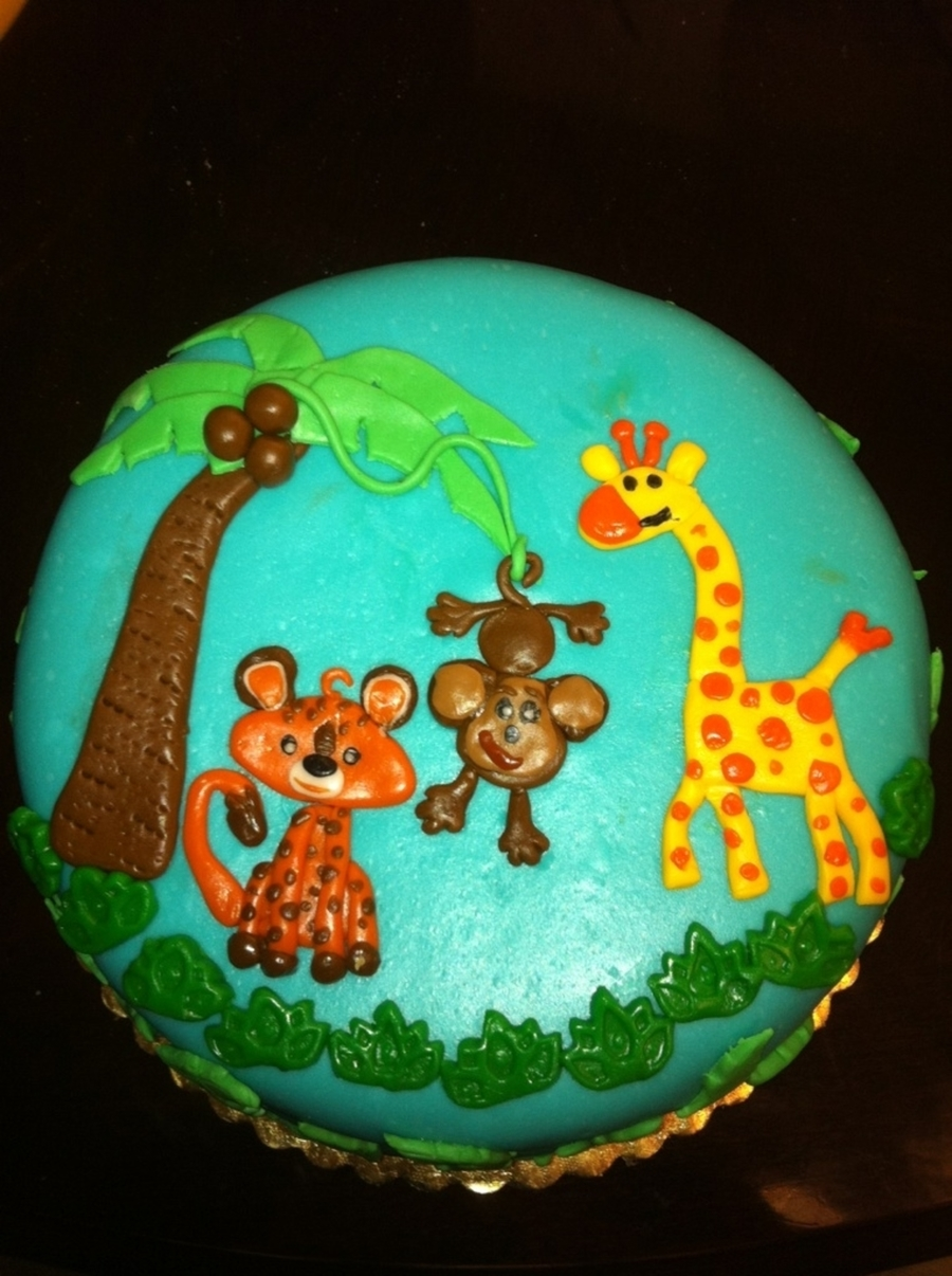 Jungle Theme on Cake Central