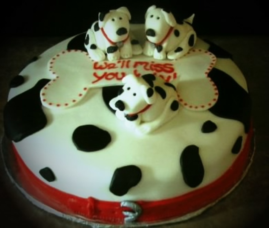 Dalmation Cake on Cake Central