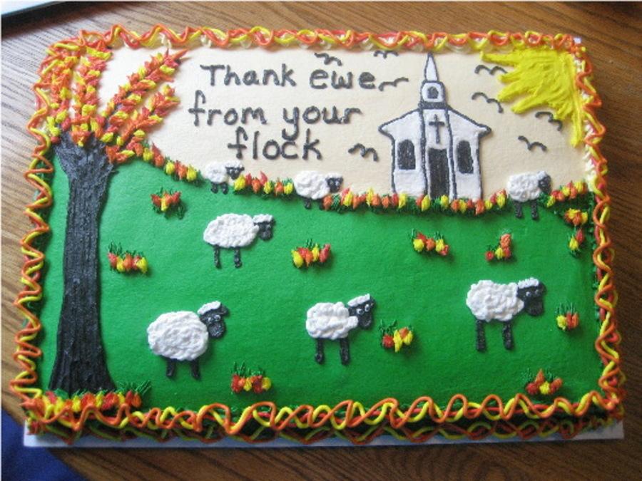 Pastor Appreciation Day Cakecentral Com