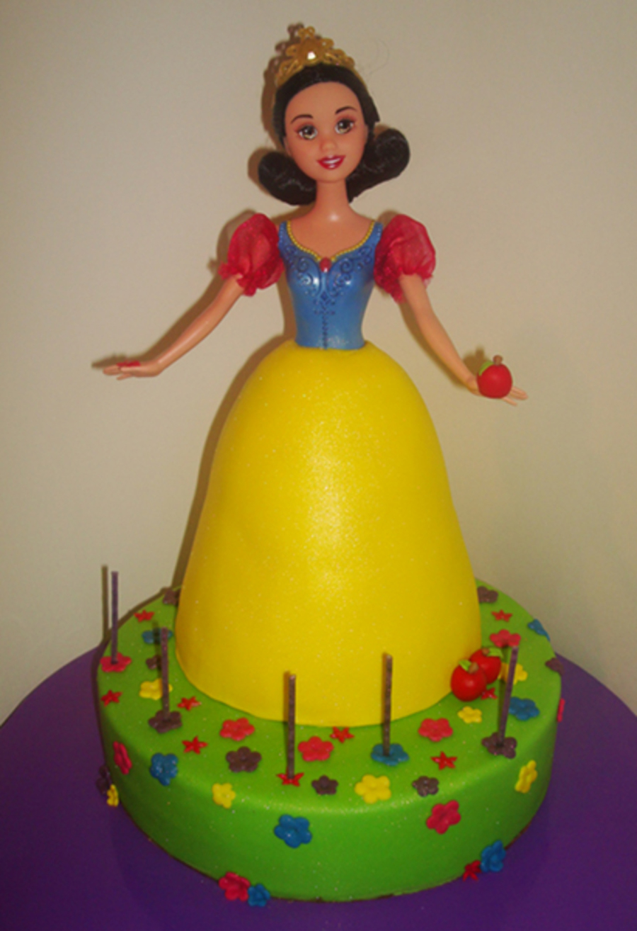 Snow White Doll Cake Cakecentral