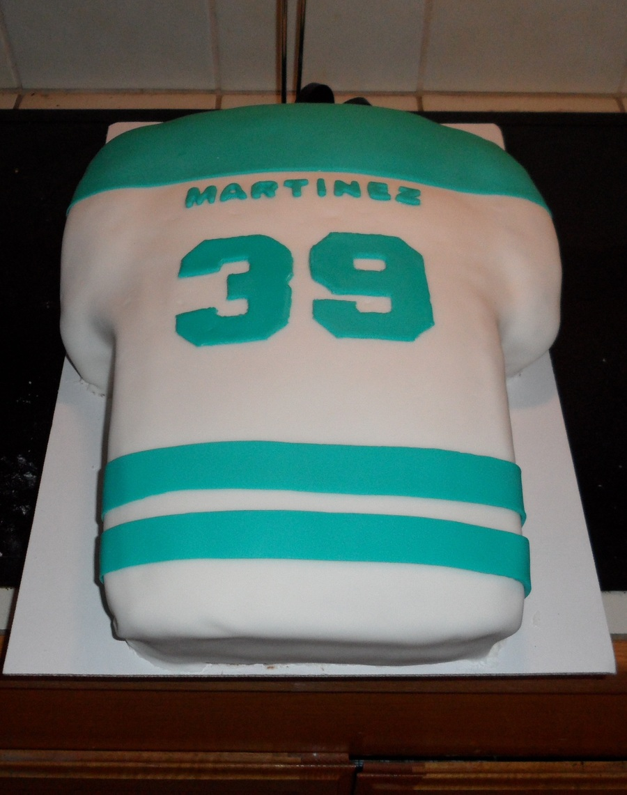 Sharks Jersey on Cake Central