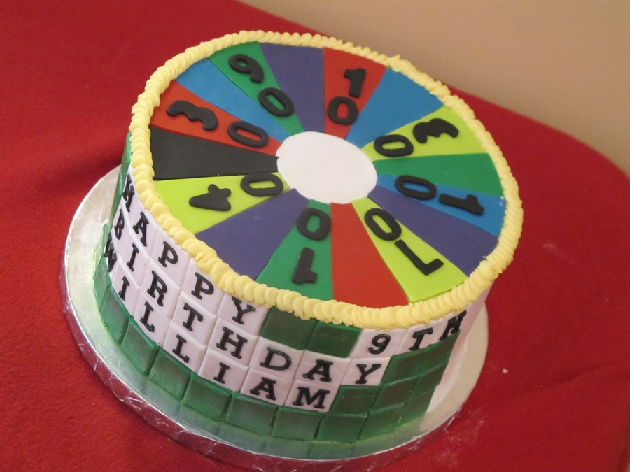 Wheel Of Fortune Kid's Cake on Cake Central