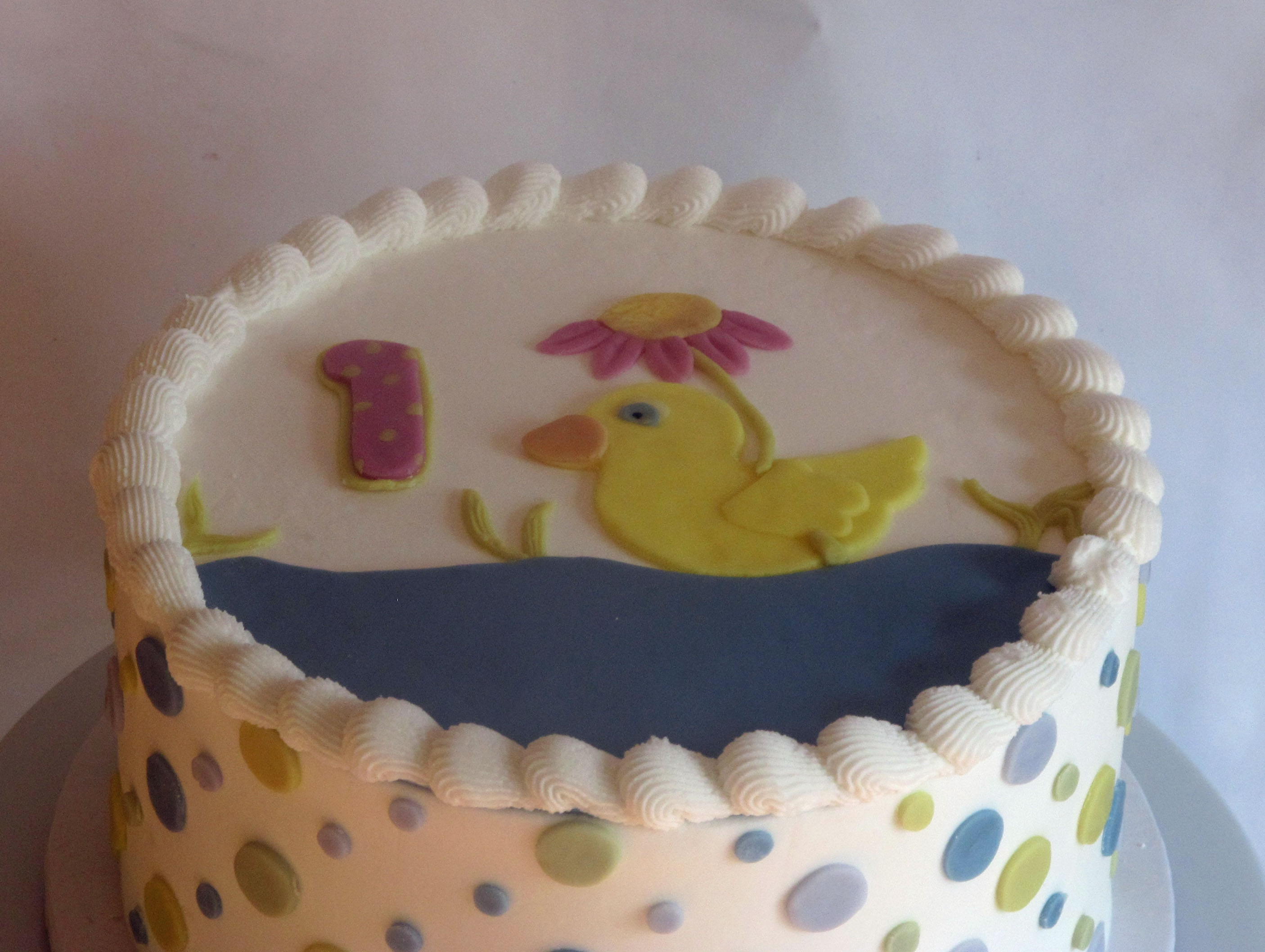 Natural Food Coloring Birthday Cake - CakeCentral.com