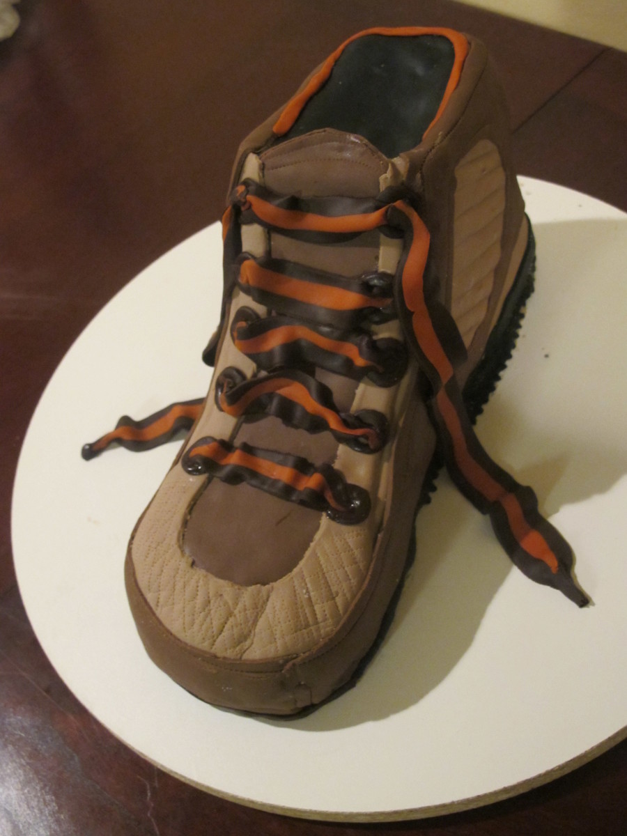Hiking Boot on Cake Central