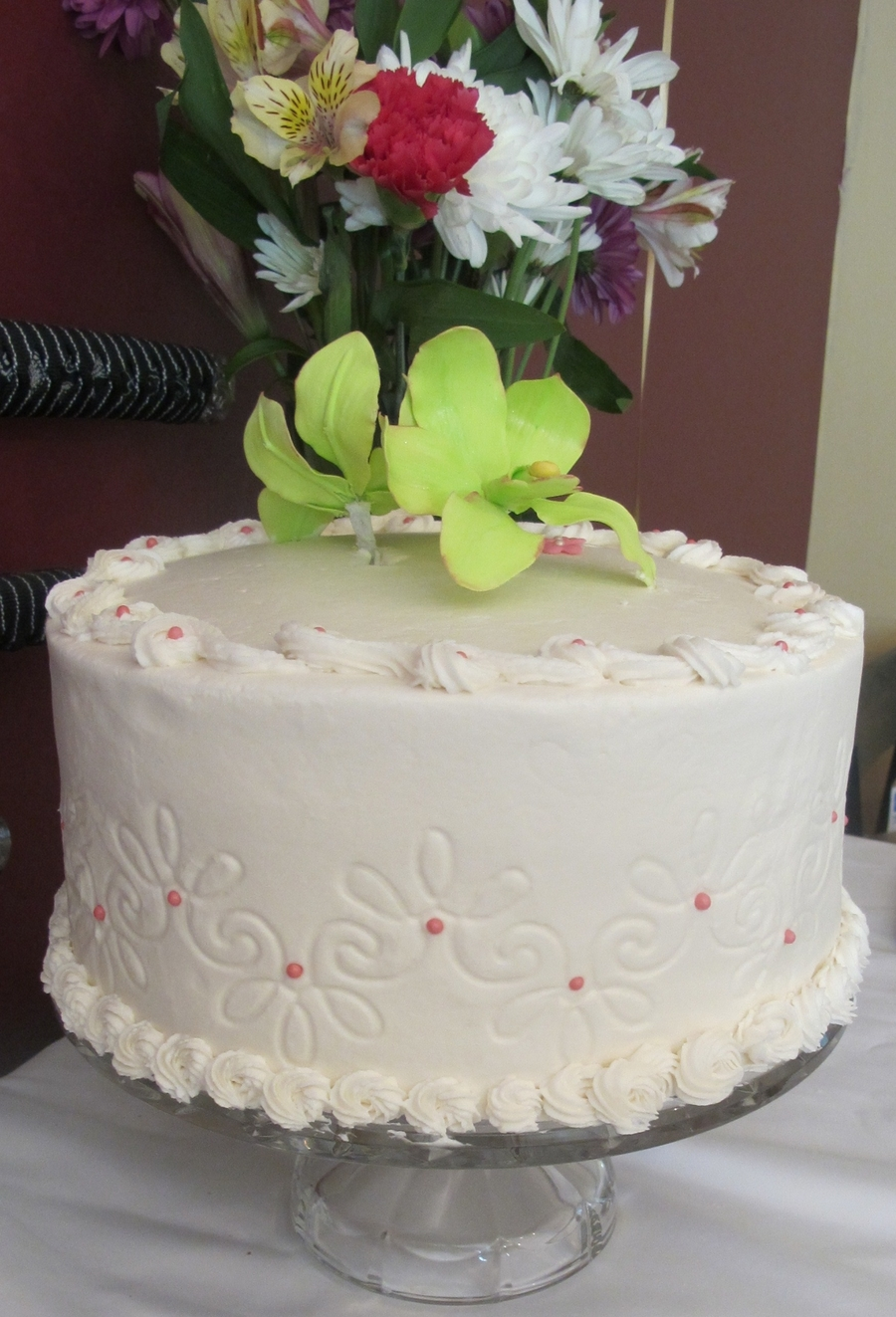 Buttercream And Orchids on Cake Central