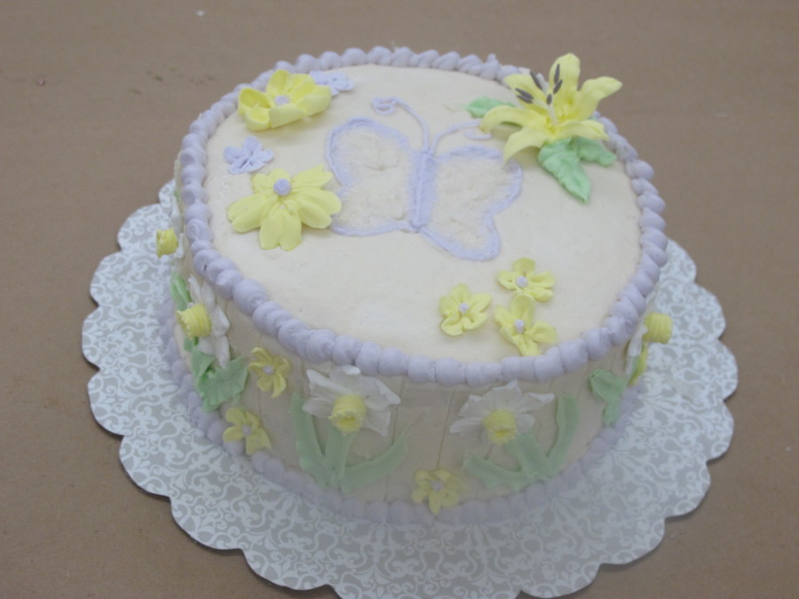 Royal Icing Spring Flowers on Cake Central