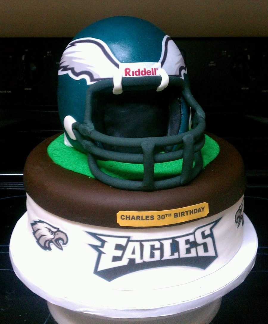Philadelphia Eagle Cake on Cake Central
