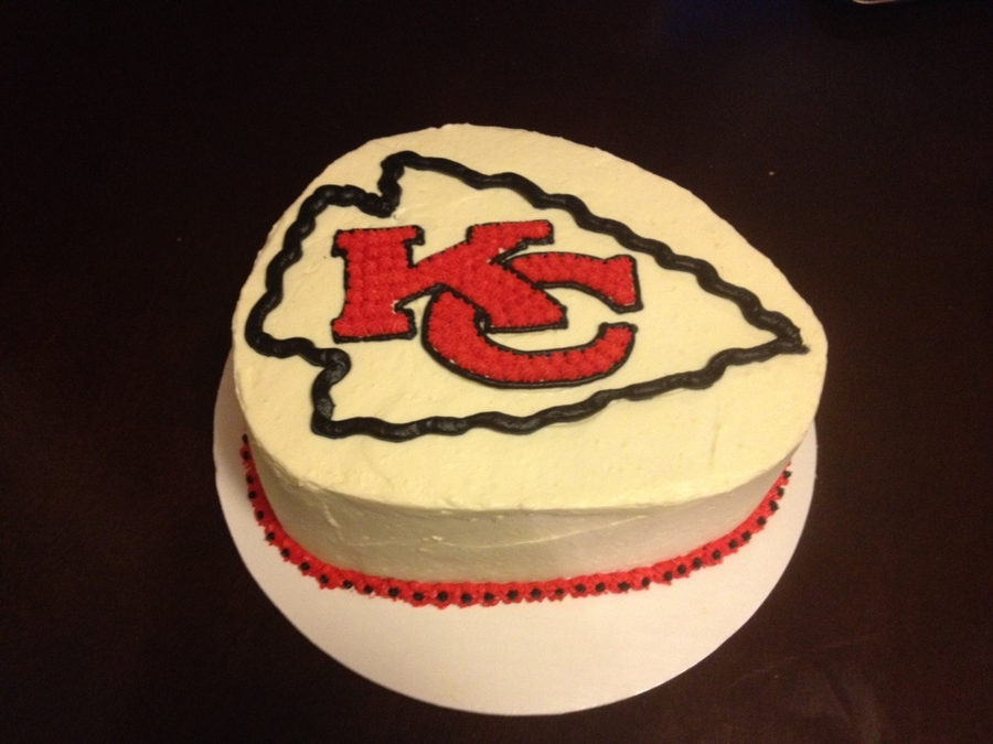 Kc Chiefs Grooms Cake (100% Sugar Free) on Cake Central