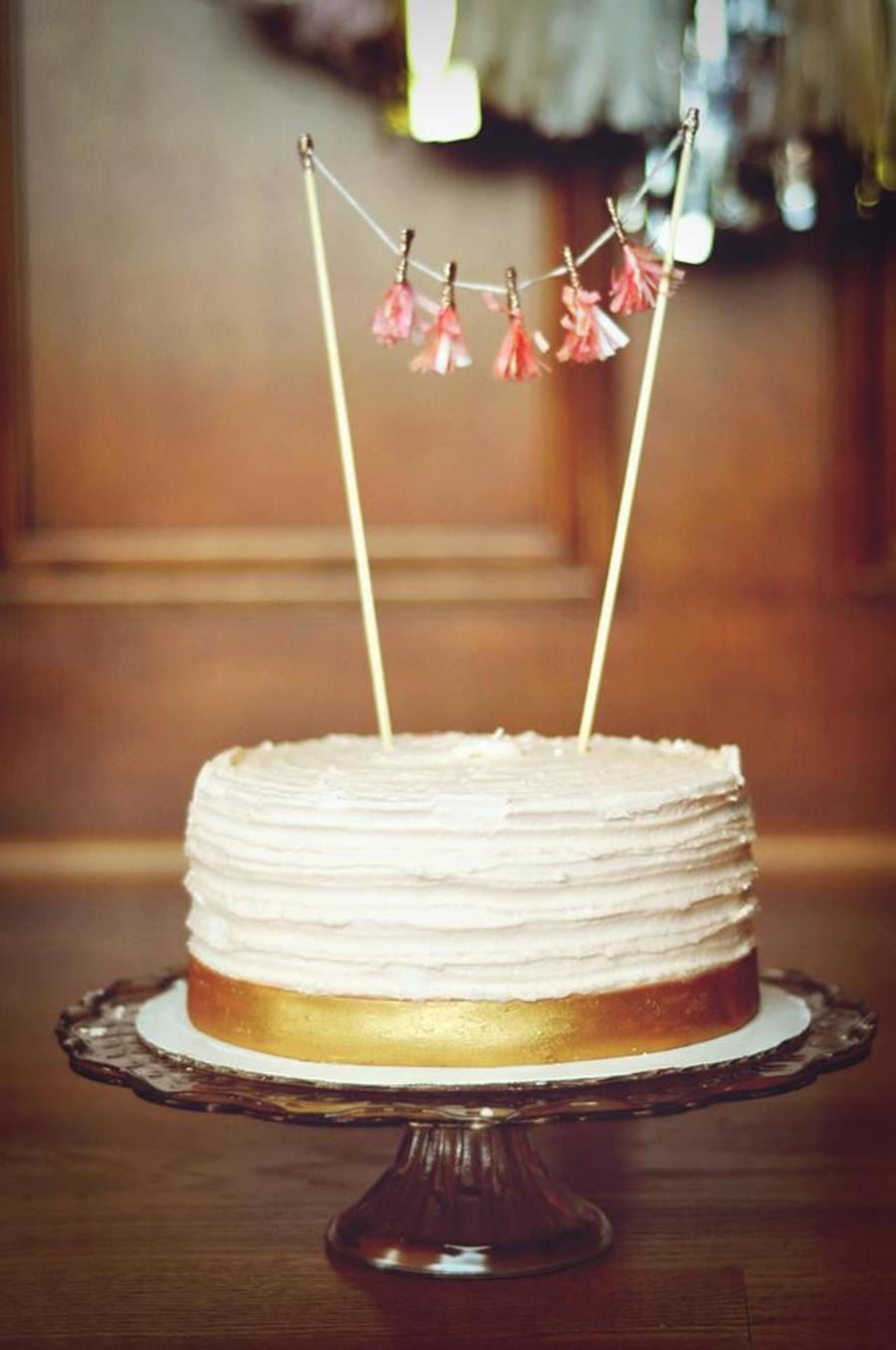 Small Fondant Birthday Cakes