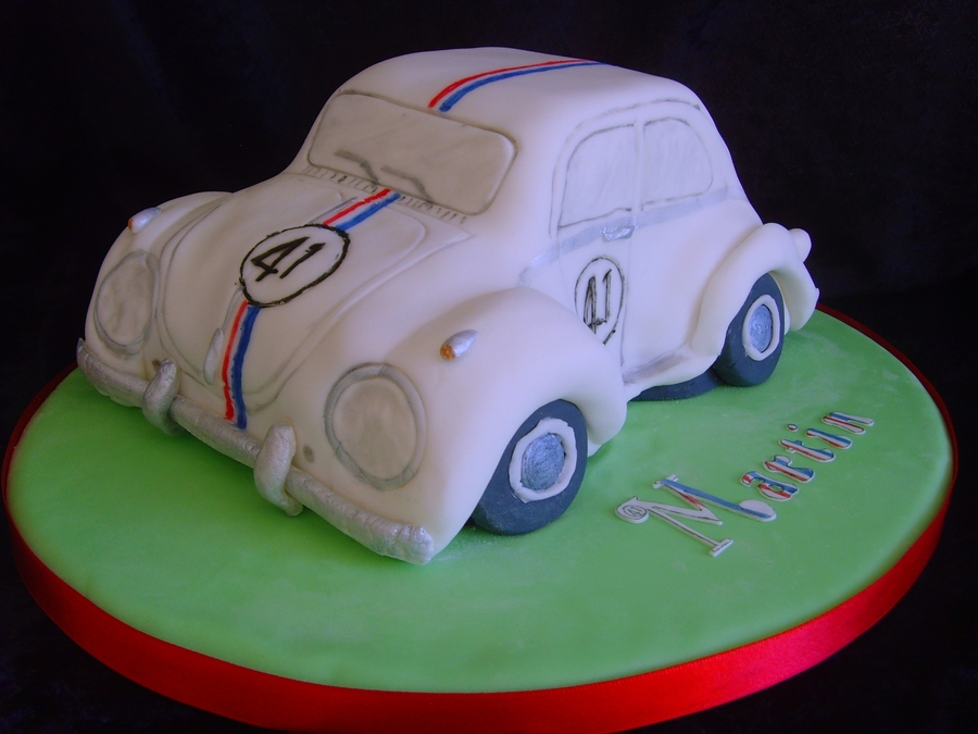 Vw Beetle Cake on Cake Central