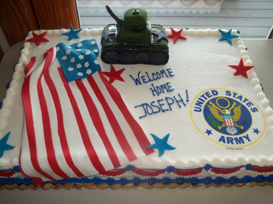 welcome home soldier cakecentral com