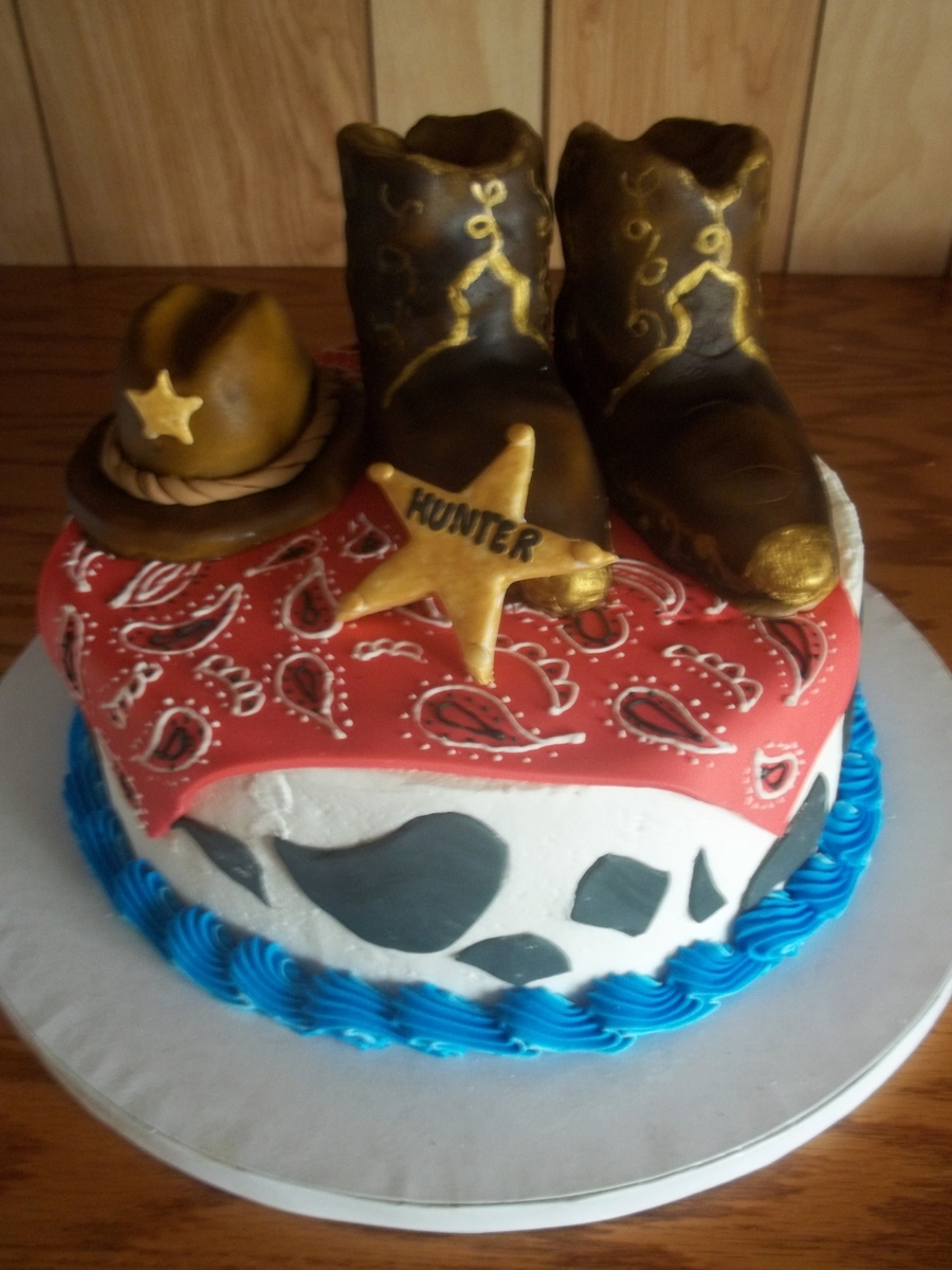 My Little Cowboy on Cake Central
