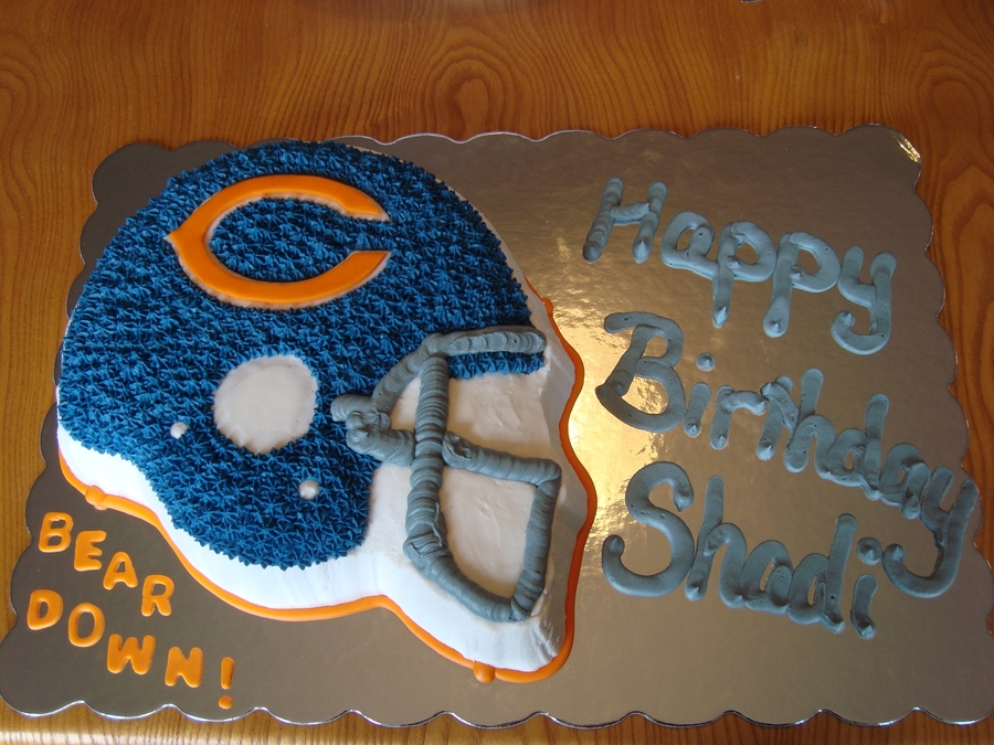 Chicago Bears Birthday Cake Cakecentral Com