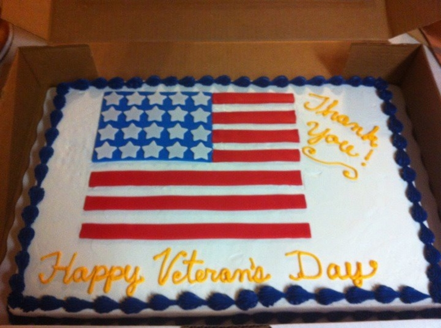 Veteran's Day on Cake Central