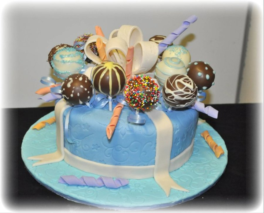 Cakepops Cake on Cake Central
