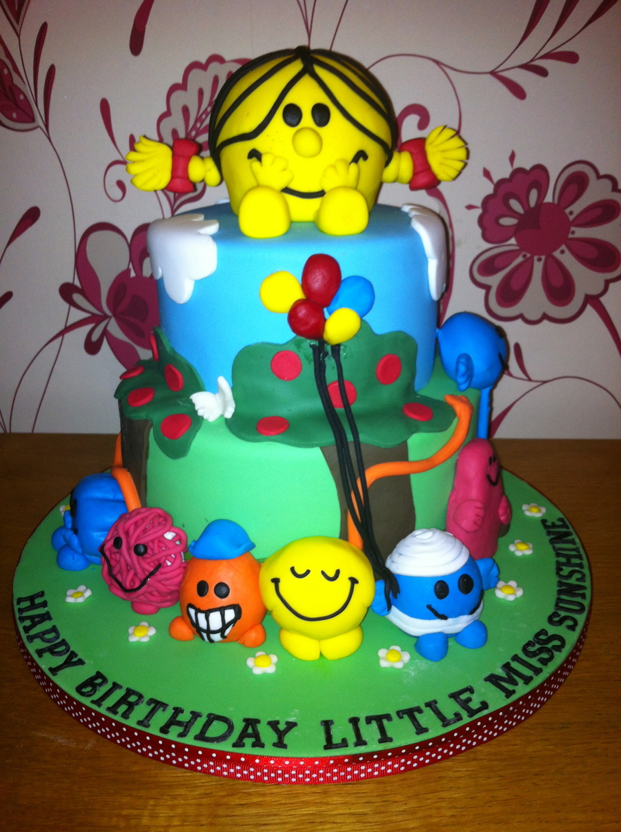 Little Miss Sunshine Cake Recipe