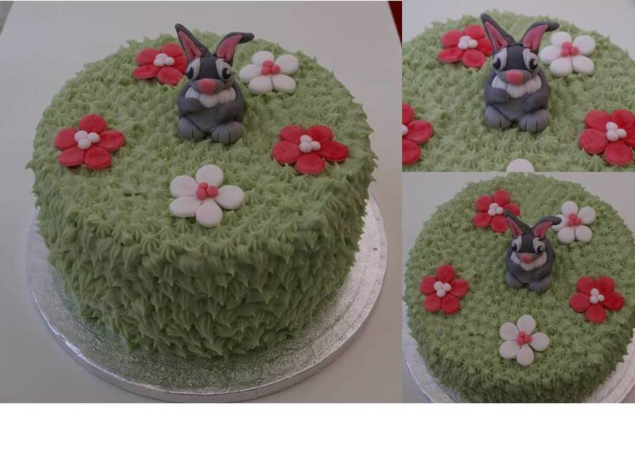 Easter Rabbit Carrot Cake  on Cake Central