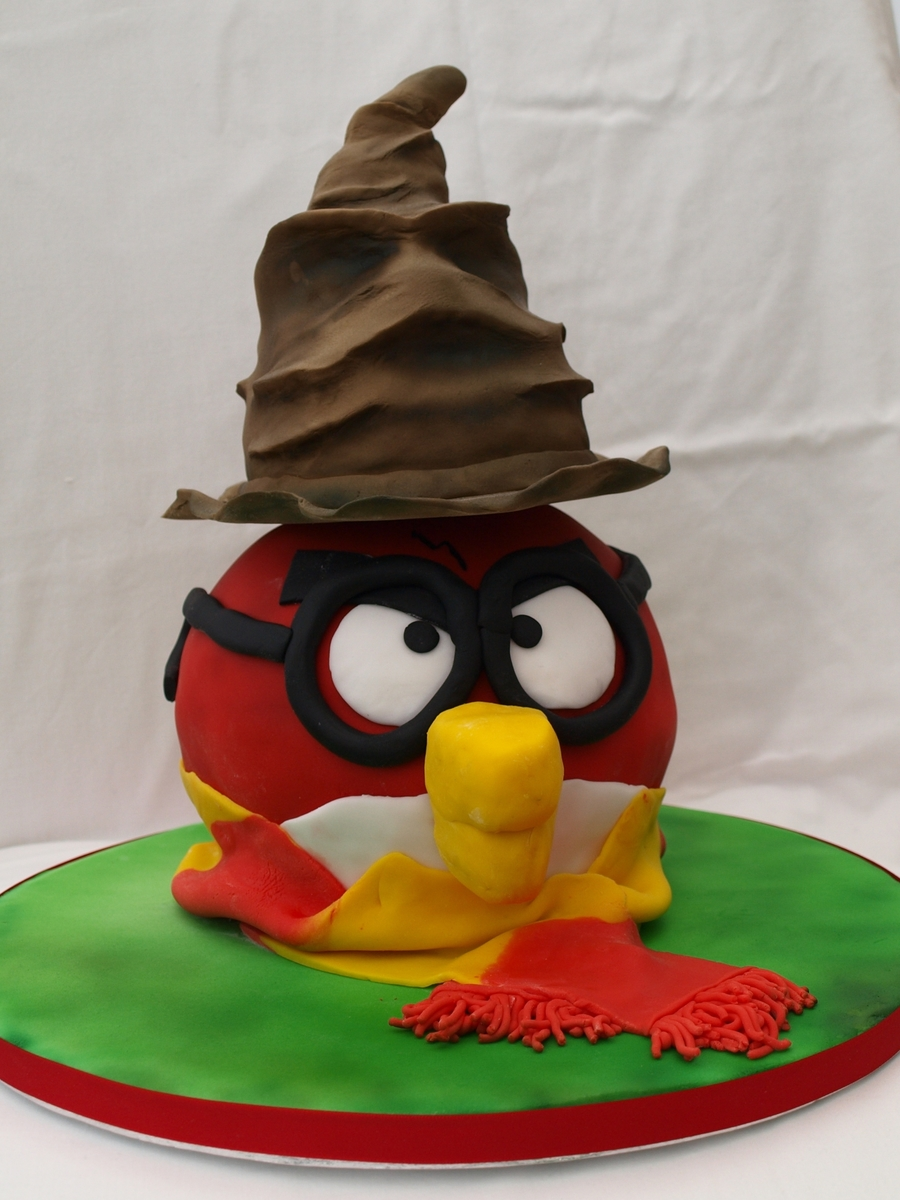 Harry Potter Angry Bird on Cake Central