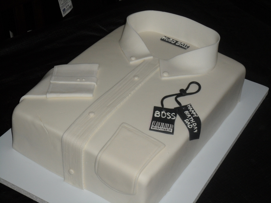 Shirt cake for Decoration 50 ans homme