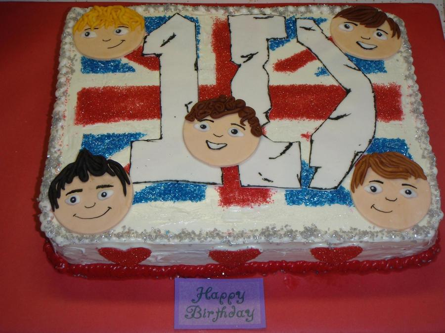 One Direction Birthday on Cake Central