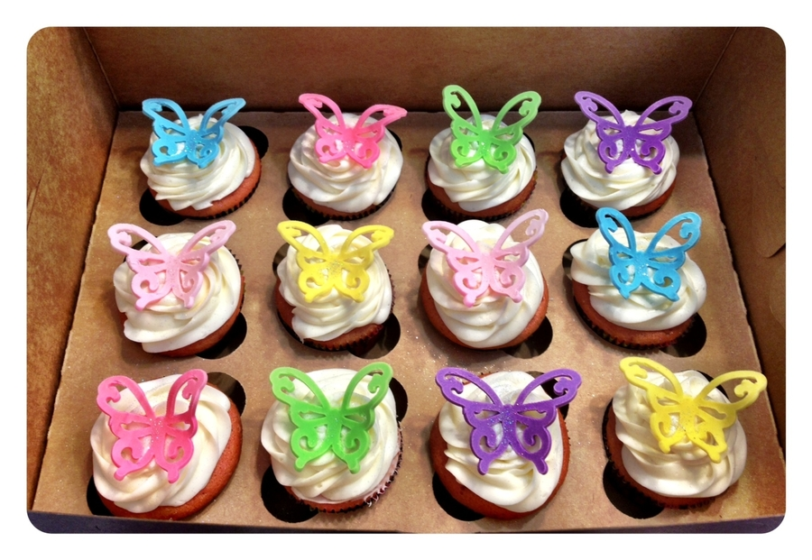 Butterfly Cupcakes on Cake Central