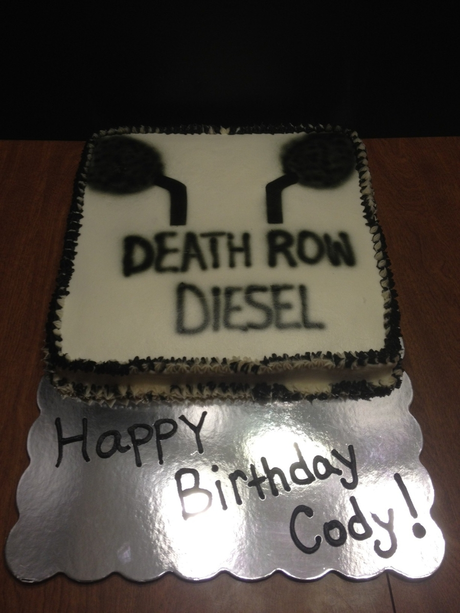 Diesel Truck Club Cake  on Cake Central